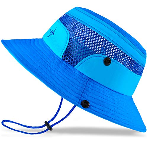 Baby Sun Hat Toddler Sun Hat Kids Breathable Bucket Sun Protection Hat...