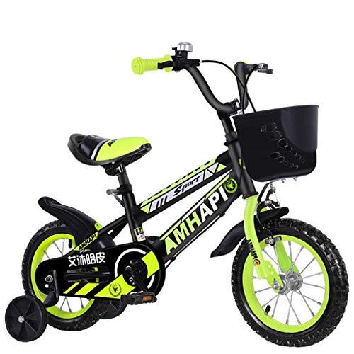 Eariy kinderfahrrad,Leichtes Mini Outdoor Fahrrad,Kleines tragbares Mountainbike mit Autokorb,Bike für Mädchen und Jungen ab 4-8 Jahre Kinder Schüler