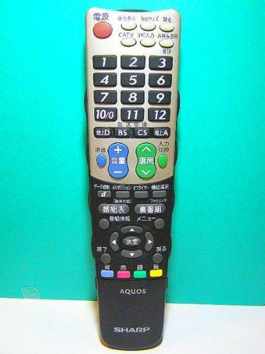 シャープ(SHARP) シャープ 液晶テレビ(AQUOS)純正リモコン GA826WJSA(0106380309)