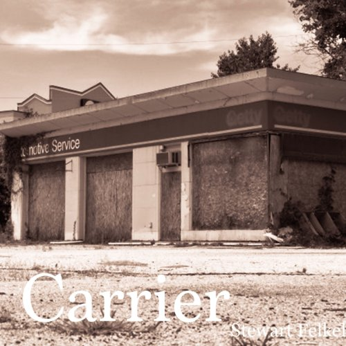 Carrier audiobook cover art
