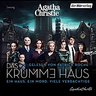 Das krumme Haus                   By:                                                                                                                                 Agatha Christie                               Narrated by:                                                                                                                                 Patrick Roche                      Length: 3 hrs and 54 mins     Not rated yet     Overall 0.0
