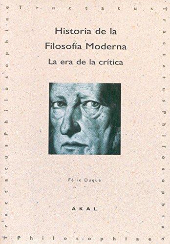 Historia de la Filosofía Moderna: 8 (Tractatus philosophiae)
