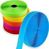 6 Rolls 150 Feet Carpet Marker Strips Nylon Carpet Strips for Teachers and Social Distancing, 6 Colors