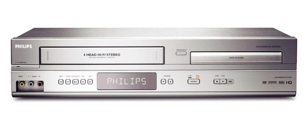 Philips DVP3345V 17 DVD Combo