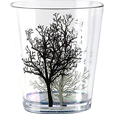 Corelle Coordinates by Reston Lloyd Timber Shadows Acrylic Rock Glasses, 14-Ounce, Set of 6