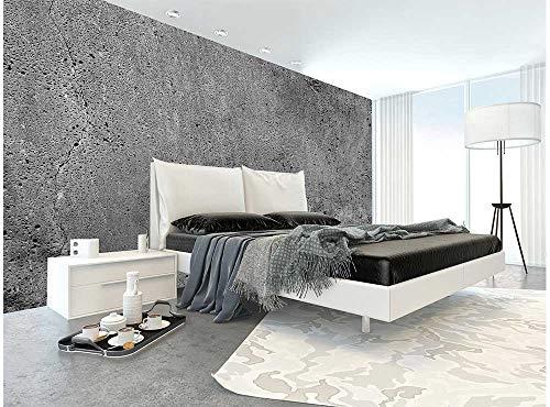 Vlies Fotobehang BETON | Niet-Geweven Foto Mural | Wall Mural - Behang - Reusachtige Wandposter | Premium Kwaliteit - Gemaakt in de EU | 375 cm x 250 cm
