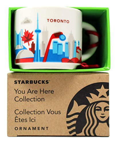 Starbucks You Are Here Series Toronto Keramikbecher, 60 ml