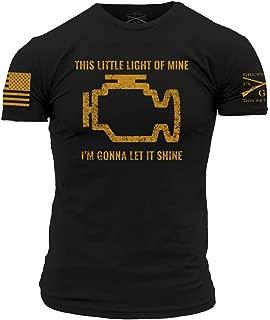 Grunt Style Motorsports Check Engine Men's T-Shirt