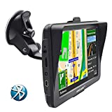 GPS de Voiture de l'écran de résistance 7 Pouces Europe Mise à Jour Gratuite de la Carte AVCE Bluetooth