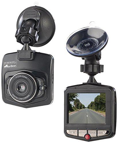 NavGear Dashkamera: VGA-Dashcam mit Bewegungserkennung und 6,1-cm-Farb-Display (2,4