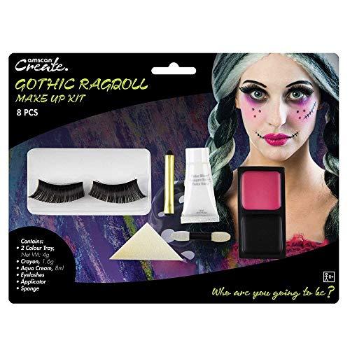 Amscan International 9901424Gothic Ragdoll Make Up Kit