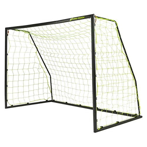 Pro Touch Unisex– Erwachsene Maestro Goal Fußball-Tor, Black/Yellow, 2
