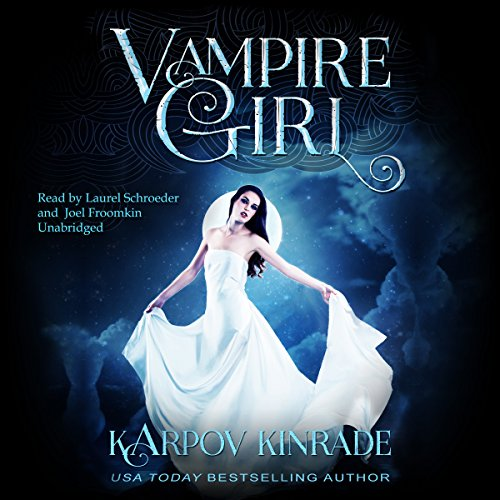 Vampire Girl audiobook cover art