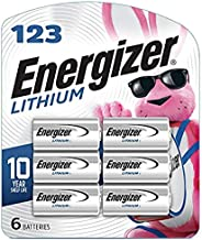 Energizer 123 Lithium Batteries (6 Pack), 3V Photo Batteries
