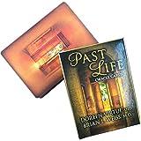 LPWCAWL Past Life Oracle Cards, Divination Wahrsagen Tarotkarten, Brettspiel für Erwachsene und Kinder, 44 Sheets, Englische Version
