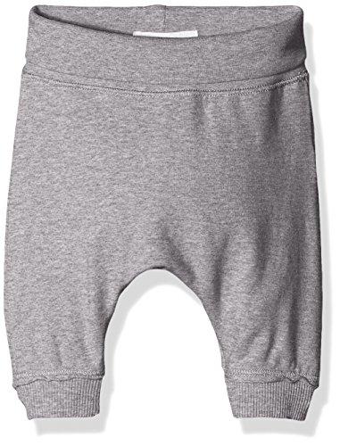 Bellybutton Kids Baby-Jungen Jogginghose Hose, Grau (Asphalt Melange|Gray 8882), 80