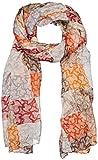 TOUS 200X75 Kaos Cuadrados PLIS MARRÓ, Organizadore de bolso para Mujer, Naranja (Naranja), 75x200x1 cm (W x H x L)