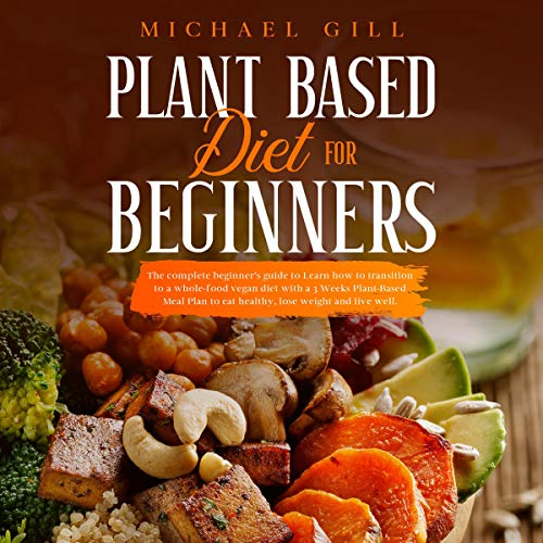 『Plant Based Diet for Beginners』のカバーアート
