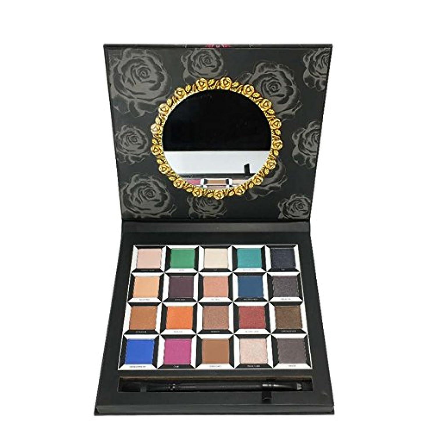 転倒マーキングヒゲ(3 Pack) OKALAN Pressed Pigment Palette Eyeshadow Palette (並行輸入品)