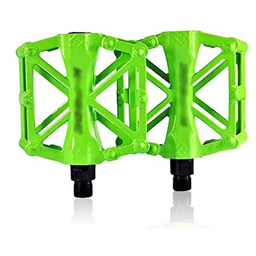 XYXZ Pedales de Plataforma para Bicicleta Pedal de Bicicleta, aleación de Aluminio liviano, rodamiento de Bolas, diseño de Sello, Piezas de conducción ultraligeras Antideslizantes, Pedal de