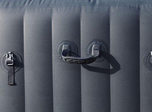 Bestway- Spa gonflable rond Palm Springs HydroJets 6 personnes, diamètre 196 cm hauteur 71 cm