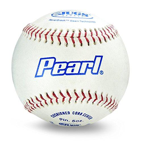 Jugs Pearl Leather Baseballs One Dozen