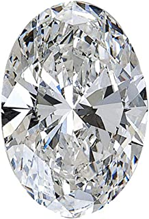 1.01 ct White Loose Lab-Grown Diamond, Oval Brilliant Cut, IGI Certifification LG11422001 (Color E, Clarity SI1) by Spark ...