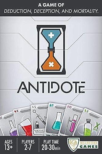 presentando toda la última moda de la calle Antidote Card Game by Bellwether Games Games Games  Disfruta de un 50% de descuento.