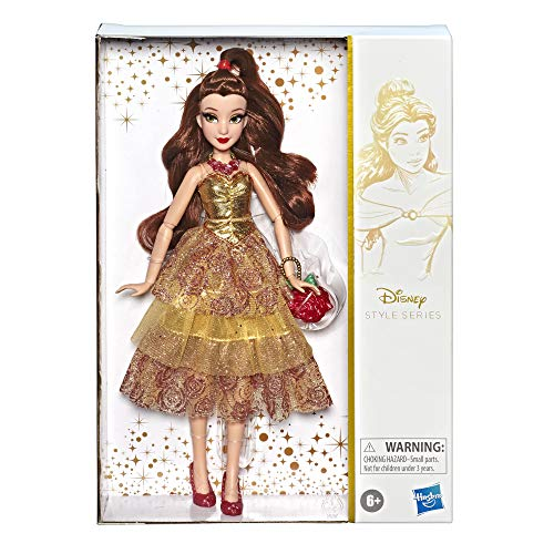 Disney Princess Style Series, Belle Doll in Contemporary Style with Purse & Shoes JungleDealsBlog.com