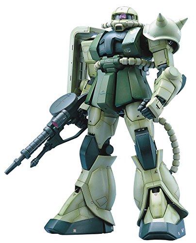 Bandai Hobby MS-06F Zaku II Mobile Suit Gundam Perfect Grade Action Figure, Scale 1:60