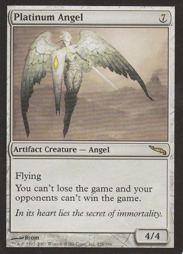 Magic The Gathering - Platinum Angel - Mirrodin