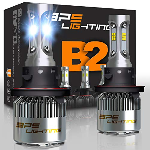 9006//HB4 LED Headlight Bulbs Conversion Kit CANbus-Ready IP67 CSP Chips 7800LM 6000K Xenon White 2-Pack Marsauto M2 Series Super Bright Low Beam//Fog Light Bulb with Fan