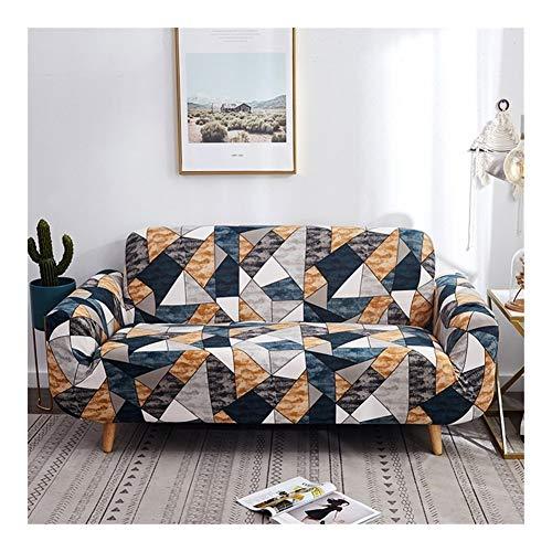 ZIJ Funda elástica para sofá de diferentes formas, para sofá o sillón, estilo L, color 21, tamaño: 1 plaza, 90 140 cm)