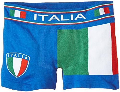 Luigi di Focenza Jungen 1669 Boxershorts, Blau (Royalblau 334), 134 (Herstellergröße: M/L)