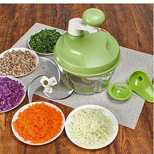 unknow Küchenhandbuch Küchenmaschine Shredder Gemüsehacker Multifunktionsschneider Fleischwolf Egg Beater Dough Mehlmischer