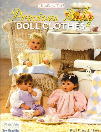 Middleton Doll Precious Baby Doll Clothes -  Martha Pullen, Paperback
