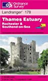 Thames Estuary - Rochester and Southend-on-Sea (Landranger Maps)