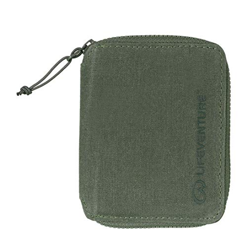 Lifeventure (Green) RFiD Protected Bi-Fold Wallet, Unisex-Adult, One Size