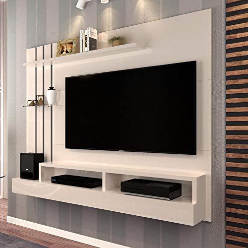 Painel para TV até 47 Polegadas Classic Off White - Móveis Jaci