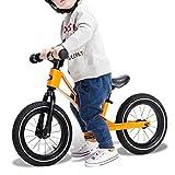 Anxwa - Bicicleta de equilibrio para niños 1-3-6 Old Walker Outdoor Slither Car hinchable doble rueda sin pedal, 75 x 34 x 49 cm