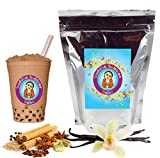Vanilla Chai Tea Latte Boba / Bubble Tea Drink Mix Powder By Buddha Bubbles Boba 10 Ounces...