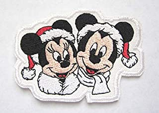 disney christmas patches