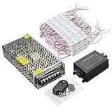 Light Strip Modulo LED 30FT impermeabile 60CS 5630 3LED Module striscia Light + Remote Control + Alimentatore for trucco Finestra Segno Decor (Colore : Red)