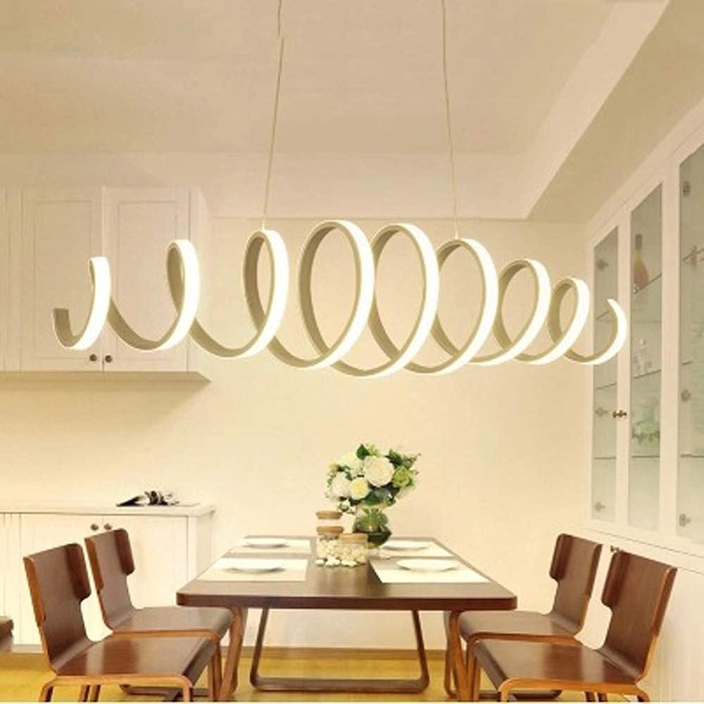 Kuandar chandelier,lampadario led con telecomando ,forma moderna primavera, RYYABC191