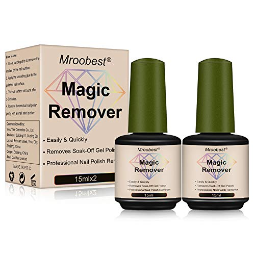 Nagellackentferner, Magic Gel Remover, Magic Nail Polish Remover, Professioneller...