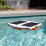 Aquamoto Skimbot 2021 Robotic Solar Powered Pool Cleaner for Swimming Pools, Bluetooth App Enabled