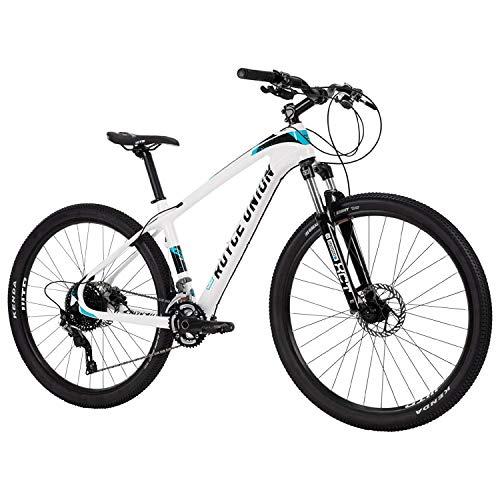 Royce Union Lightweight Carbon Mountain Bike, Gloss White, 27.5 inch Wheels / 16.5 inch Frame