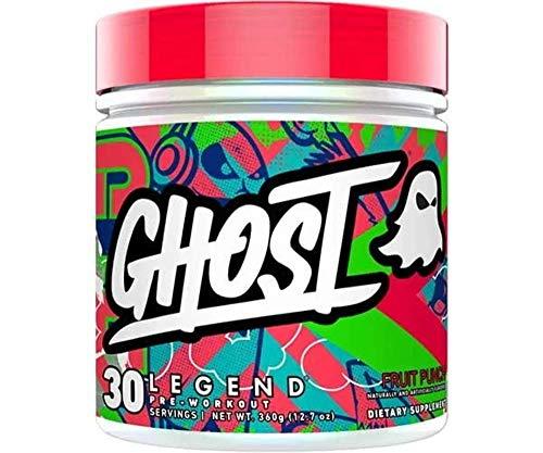 Ghost Legend Integratore Alimentare Pre Allenamento, Limone Lime - 340 g