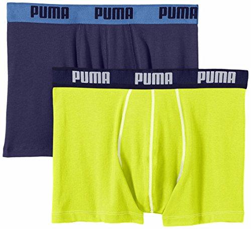 Pack de 2 Bóxer amarillo para hombre Puma