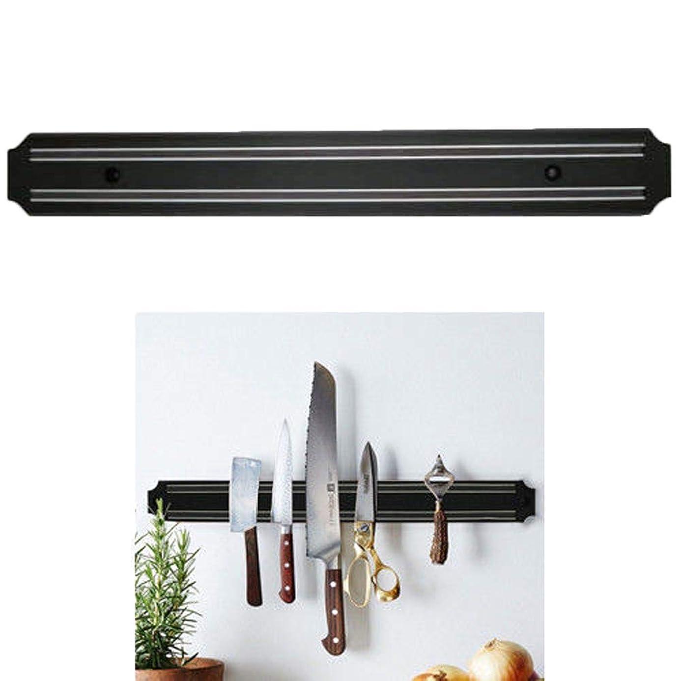 積極的にプロット直接磁気ナイフストリップ 強力なキッチン壁マウント 磁気ナイフホルダー ストリップレックスタンド